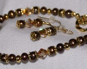 Deep Woods Pearl Set