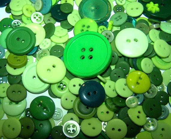25 bulk green buttons bulk buttons large green buttons new - Green button ...