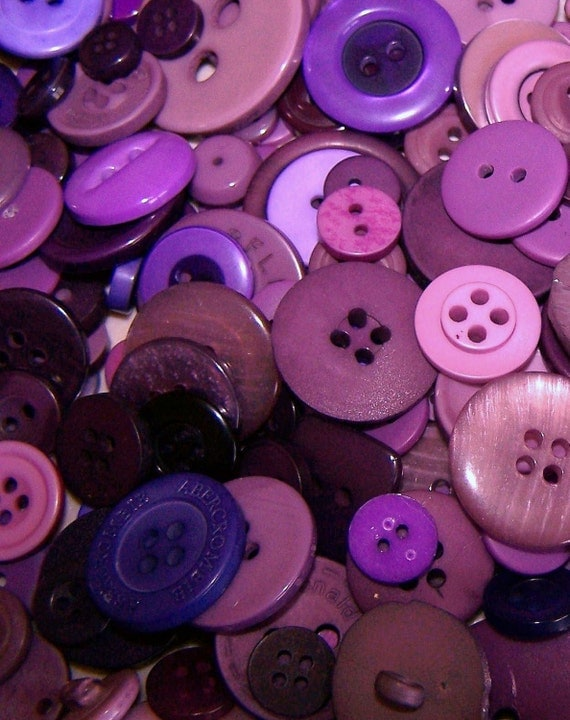 Custom Listing for debomommy - 3,000 assorted small purple buttons