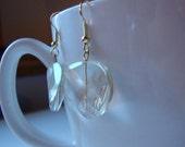 Champagne Crystal Earrings
