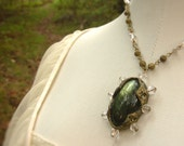 Heart of the Forest / Labradorite Necklace