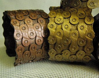 Wide Bicycle Chain Cuff