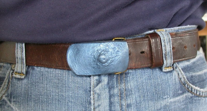 candybar nipple belt buckle