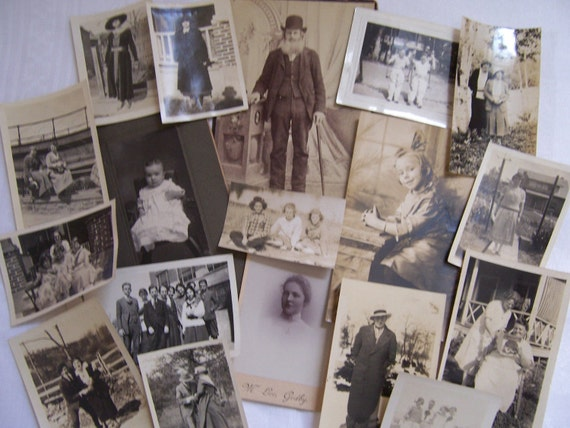 Vintage Photographs - 18 in Lot