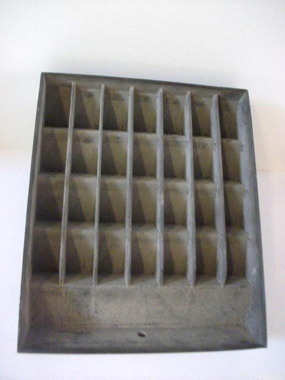 Vintage Aluminum Drawer