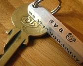 Four Sided Custom Keychain - By Rawkette