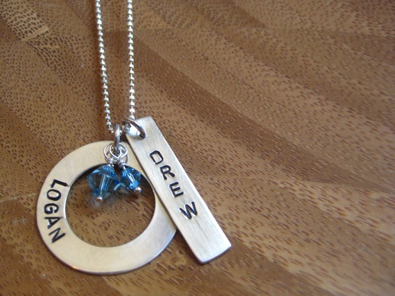 Custom Ring and Bar Necklace - By Rawkette