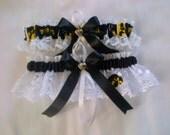 Iowa Hawkeyes Lace Wedding Garter any size