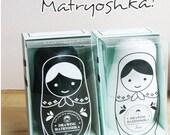 Blank Matryoshka Nesting Dolls Set