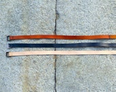 SALE - wrap leather belt  - made in italy
