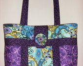 Large, Quilted Tote Bag