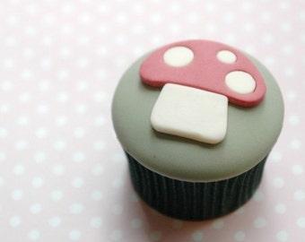 Toadstool cupcake Tutorial PDF