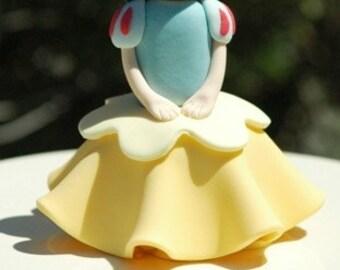 Princess Cupcake PDF Tutorial (Snow White)