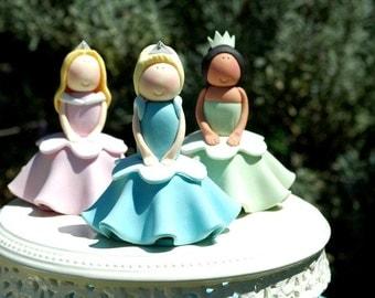 Set of 6 Princess Cupcake PDF Tutorials
