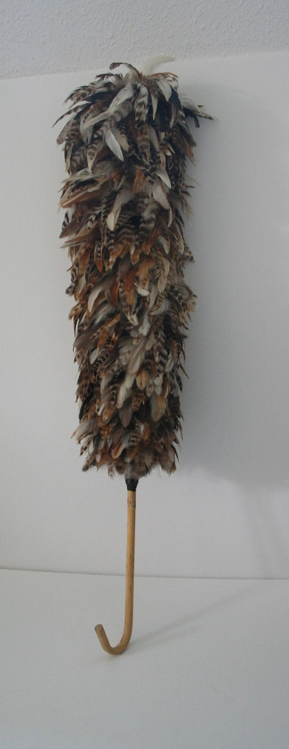 vintage feather duster