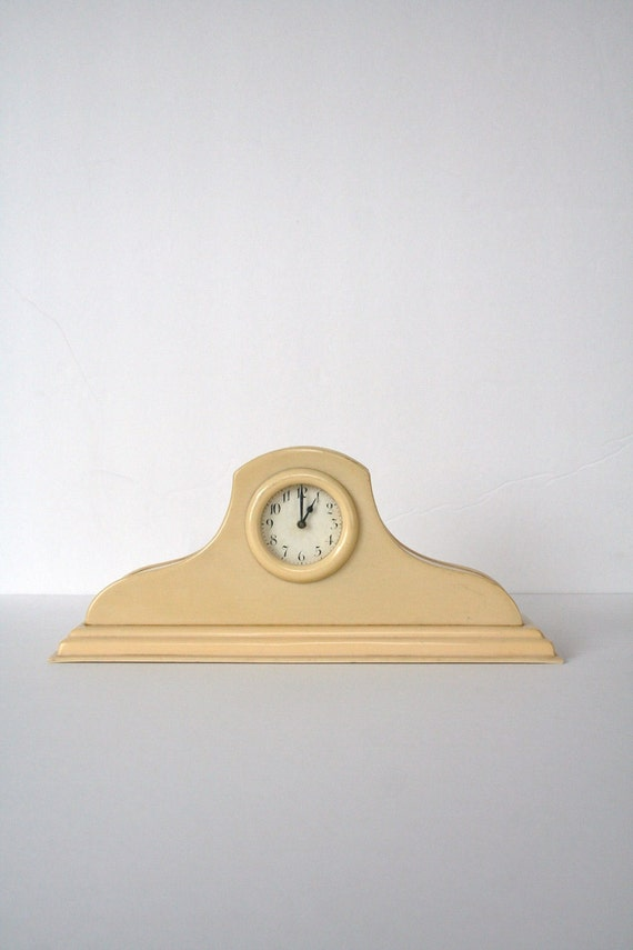 RESERVED  celluloid clock 1920 deco