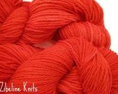Chinese Dragon Spanish Merino Wool Worsted Weight Hand Dyed Yarn