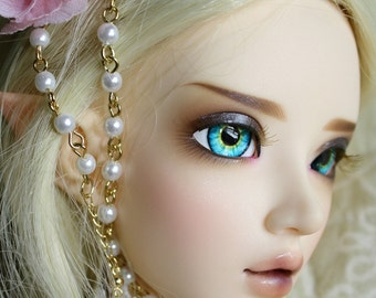 BJD eyes Doll eyes Hand Made available in 12/14/16/18/20/22/24mm Mermaids Song made to order