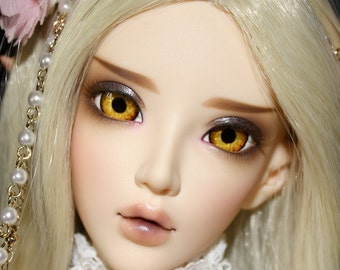 BJD eyes available in 12/14/16/18/20/22/24mm Fire Of Tamarind made to order