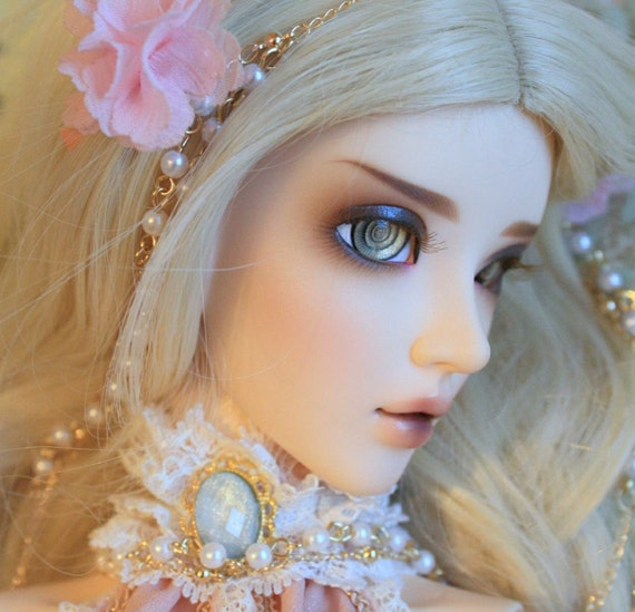 BJD eyes available in 12/14/16/18/20/22/24mm Golden Abelone made to order