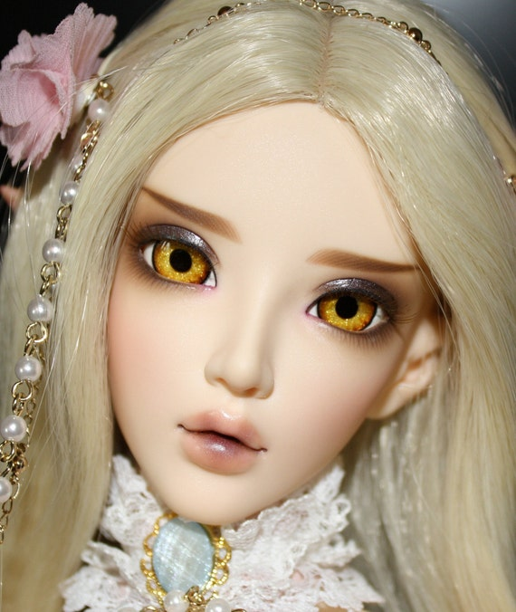 BJD eyes Doll eyes Hand made available in 12/14/16/18/20/22/24mm Fire Of Tamarind made to order