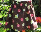50% off SALE - Ladybugs Twirl Skirt, Size 3T - Nezzy's Boutique