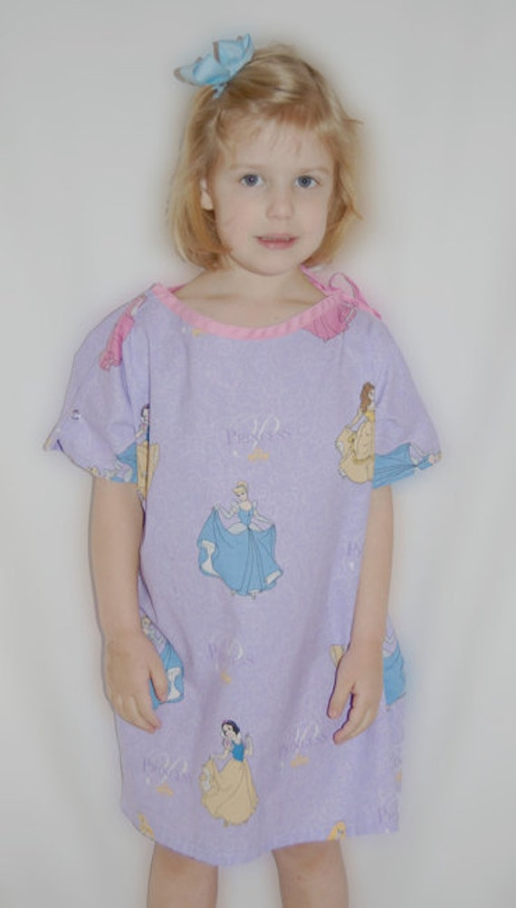PDF Sewing Pattern - Child's Hospital Gown