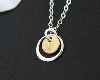 Skinny Cross Necklace Gold Sideways Cross Necklace 14k Gold