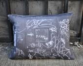 New York CIty Graffiti Pillow No.2