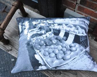 New York City Fruit Stand Pillow
