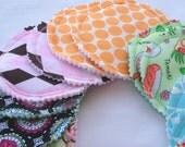 Breastfeeding Nursing Pads Reusable Washable -  10 Pads