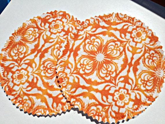 Reusable Breastfeeding Nursing Pads Tangerine Indie