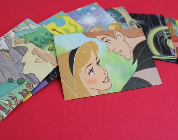 Sleeping Beauty Mini Envelopes