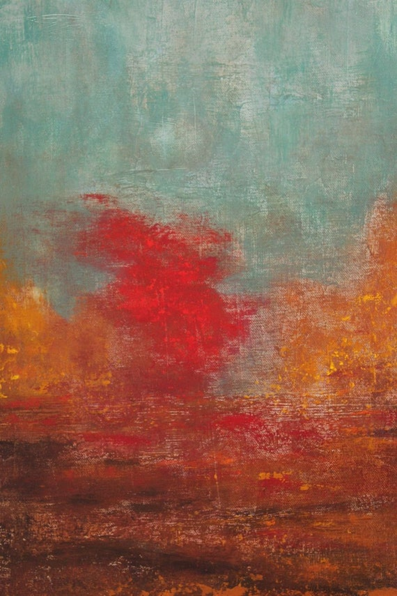 Oil Painting Abstract Landscape