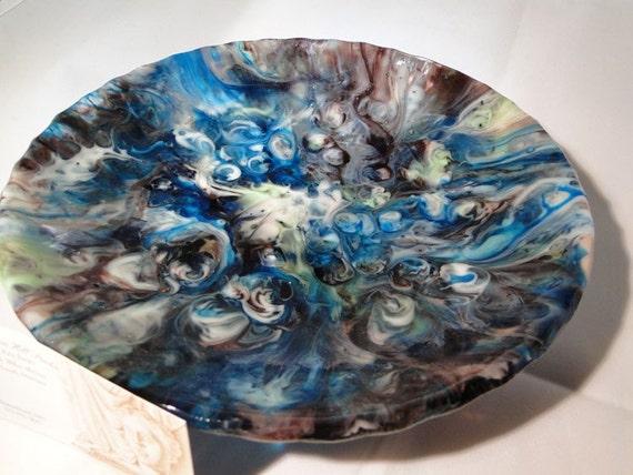 Galaxy - Fused Glass Bowl