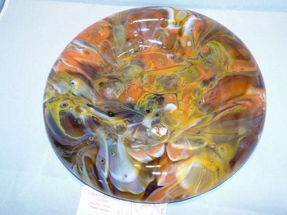 Fused Glass - Koi Platter/Bowl