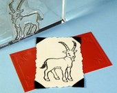 Goat Clear Polymer Rubber Stamp