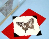 Beautiful Butterfly Clear Polymer Rubber Stamp