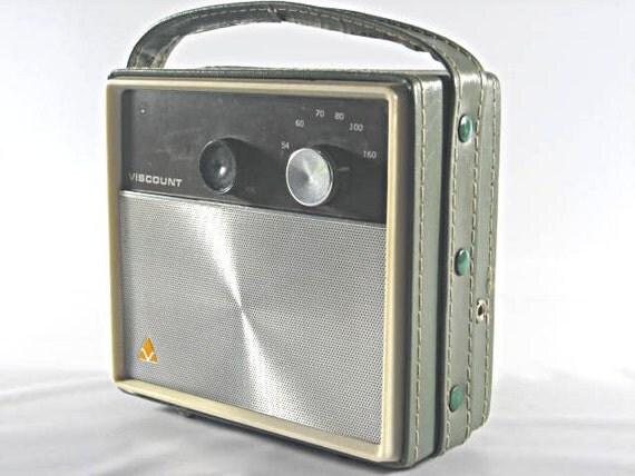 Vintage Viscount Radio