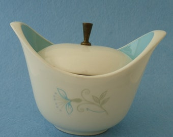 1950s Summer Time Sugar Bowl by Taylor Smith and Taylor