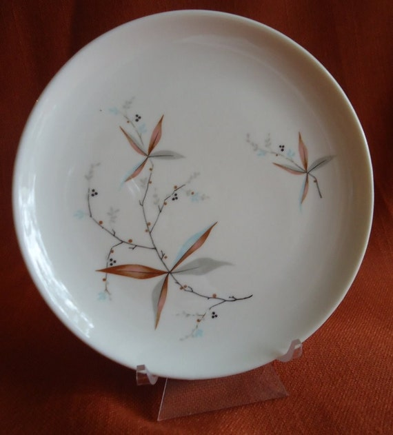 4 Syracuse Finesse Bread Butter Plates 1960s Midcentury China