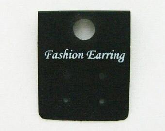 95 PCS. 30 mm. x 25 mm. Black Earring Cards Holder