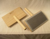 Wool Hand Cards Carders Strauch - Fibers - Spinning - Felting - Free Shipping in US