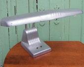 Desk Lamp Vintage Industrial Art Deco by Dazor