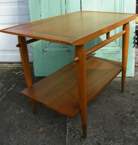 Mid Century Furniture Table Solid Wood