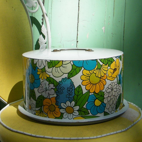Retro Cake Tin by Ballonoff Mad Men Style