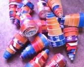 1 inch Cone Cardboard Beads