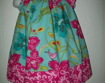 Baby Girl  Custom Boutique Pillowcase Dress  Sizes Availible Newborn - 6