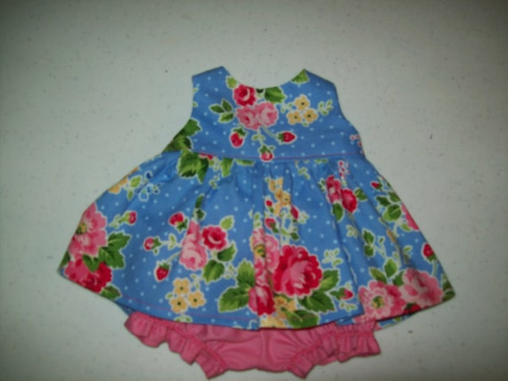 """Baby Alive  And Waldorf Doll Clothes Adorable Dress 10"""" 12"""" Or 15"""""""
