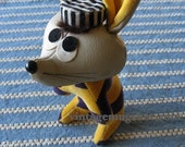 Vintage Dream Pets Convict Prisoner  VERY OLD Sixties  eight inches made in Japan